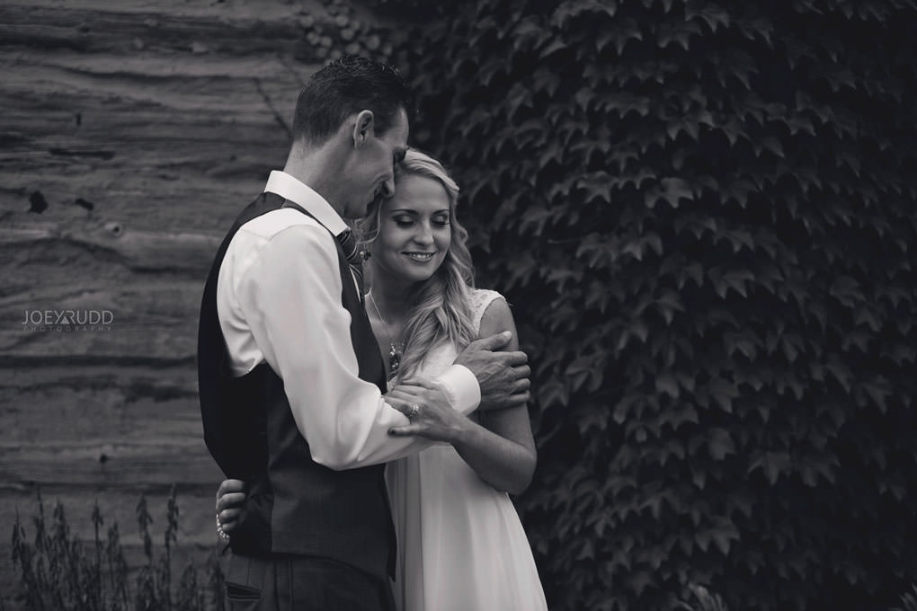 Ottawa Wedding Photography by Ottawa Wedding Photographer Joey Rudd Photography Elopement Carleton Place Smiths Falls Ontario Rustic Ivy Log Cabin