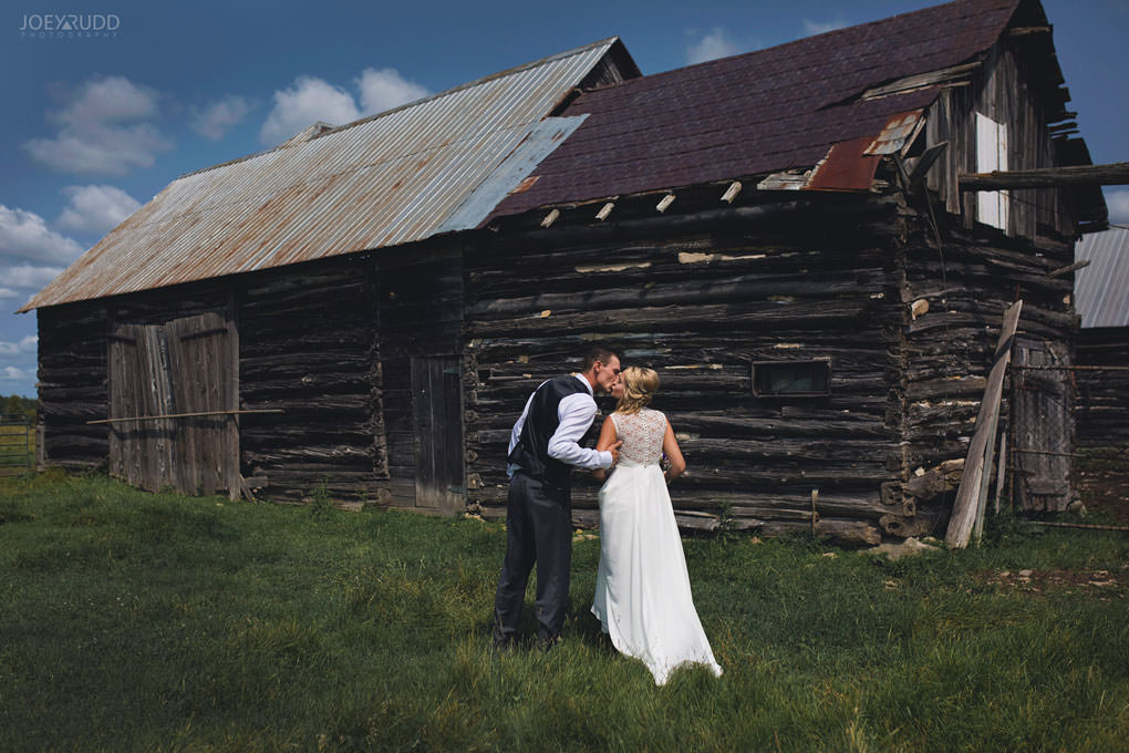 Ottawa Wedding Photography by Ottawa Wedding Photographer Joey Rudd Photography Elopement Carleton Place Smiths Falls Ontario Rustic Barn Abandoned