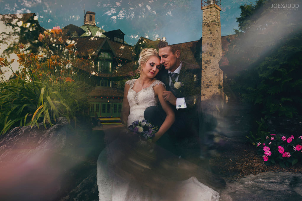 Ottawa & Quebec Wedding Photography by Ottawa Wedding Photographer Joey Rudd Photography Wedding at Fairmont Chateau Montebello Piper Avenue Wedding Bride and Groom Multiple Double Exposure