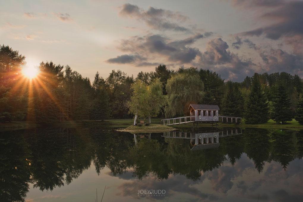 Bean Town Ranch Wedding by Ottawa Wedding Photographer Joey Rudd Photography Water