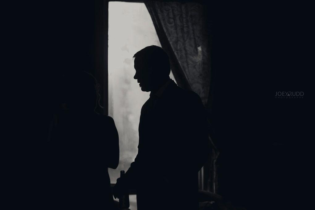 Bean Town Ranch Wedding by Ottawa Wedding Photographer Joey Rudd Photography silhouette