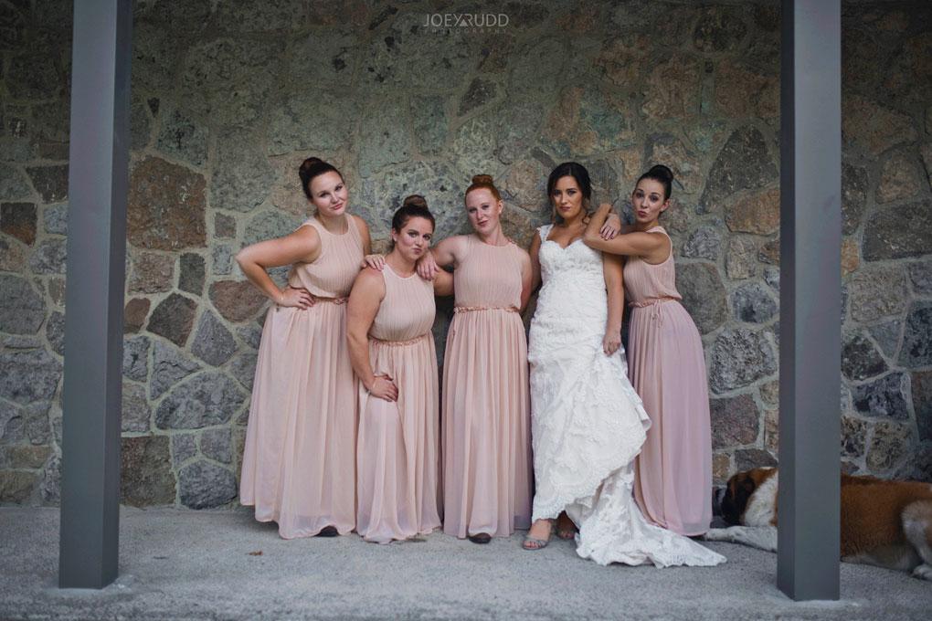 Bean Town Ranch Wedding by Ottawa Wedding Photographer Joey Rudd Photography bridesmaids pose