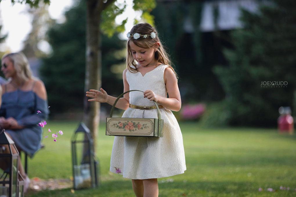 Bean Town Ranch Wedding by Ottawa Wedding Photographer Joey Rudd Photography flower girl