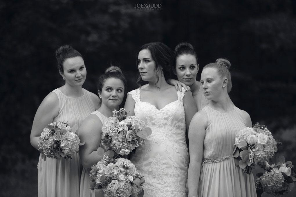 Bean Town Ranch Wedding by Ottawa Wedding Photographer Joey Rudd Photography wedding party bridesmaids