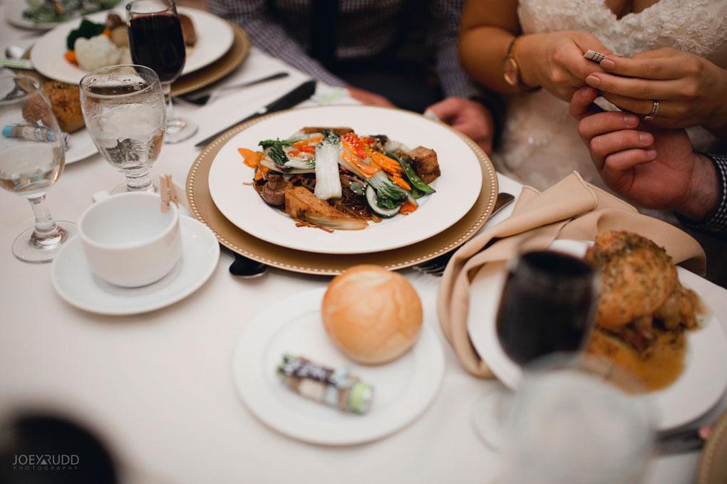 Bean Town Ranch Wedding by Ottawa Wedding Photographer Joey Rudd Photography Reception Wedding Venue Food