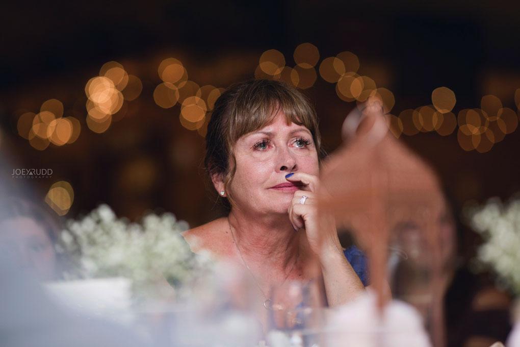 Bean Town Ranch Wedding by Ottawa Wedding Photographer Joey Rudd Photography Reception Wedding Venue Tears Moment