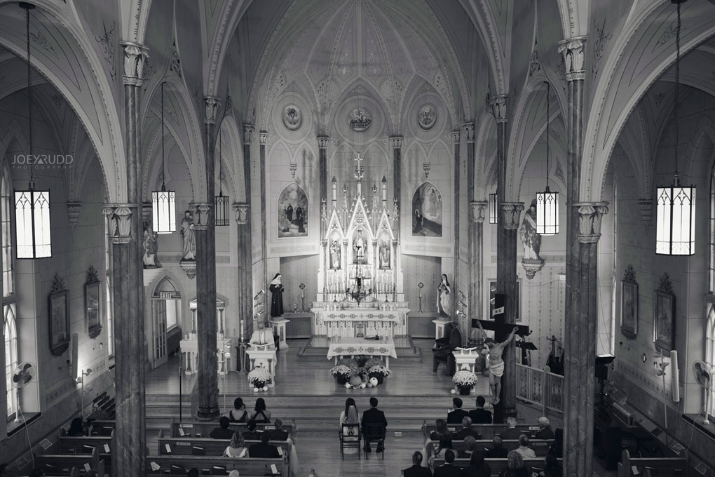 Orchard View Wedding by Ottawa Wedding Photographer Joey Rudd Photography cathedral