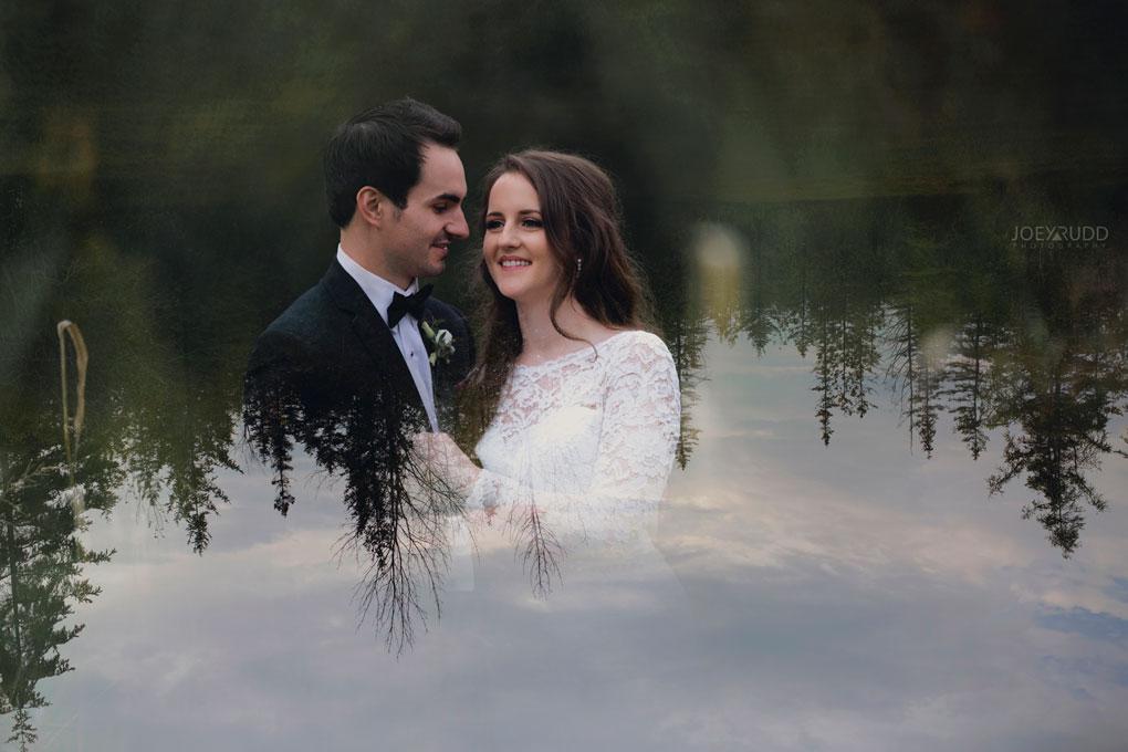 Orchard View Wedding by Ottawa Wedding Photographer Joey Rudd Photography double exposed