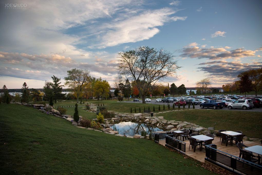 1000 Islands Village Wedding Venue Brockville Ottawa Wedding Photographer Joey Rudd Photography Sunset View