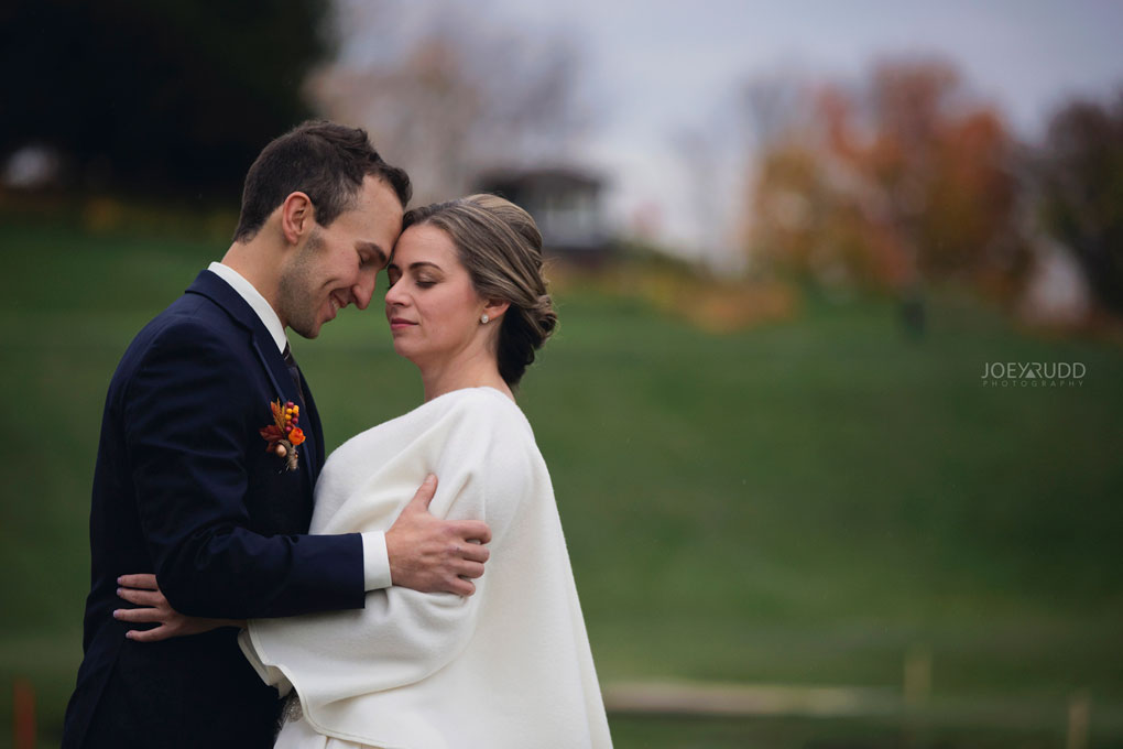 Fall Wedding at the Royal Ottawa Golf Course by Joey Rudd Photography  Natural Posing