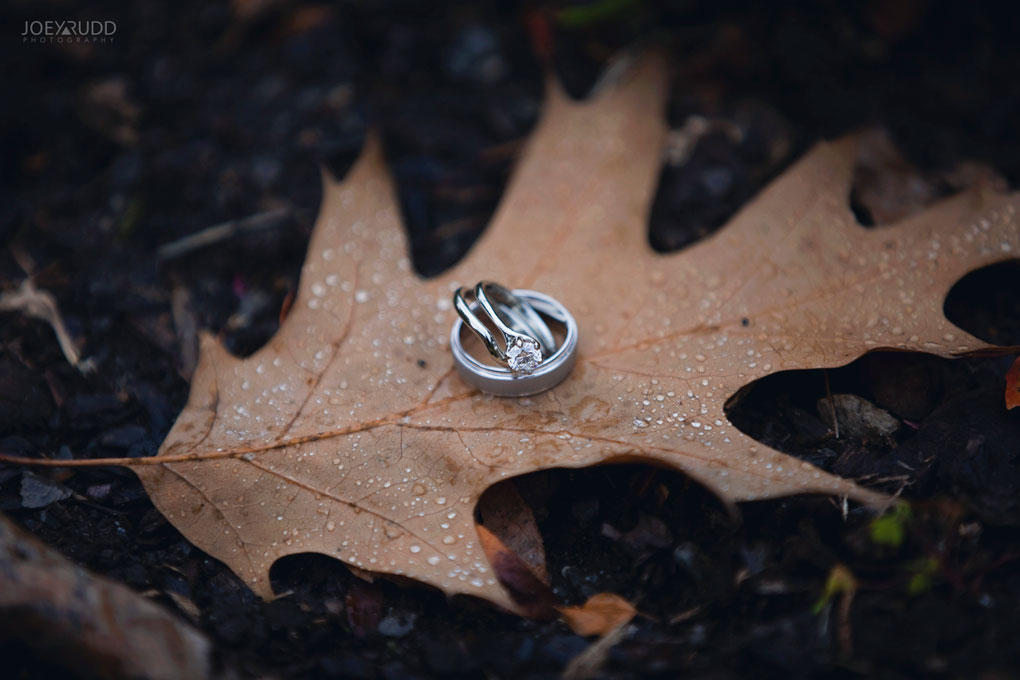 Fall Wedding at the Royal Ottawa Golf Course by Joey Rudd Photography  Rings
