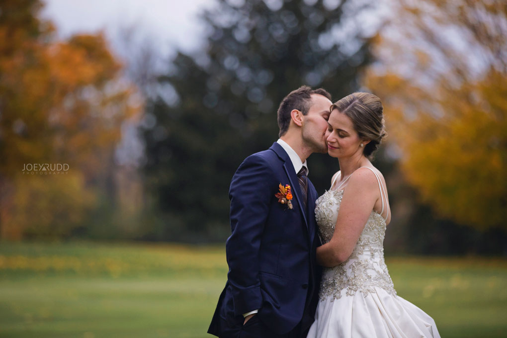 Fall Wedding at the Royal Ottawa Golf Course by Joey Rudd Photography  Colours