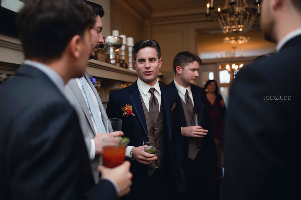 Fall Wedding at the Royal Ottawa Golf Course by Joey Rudd Photography Reception Candid