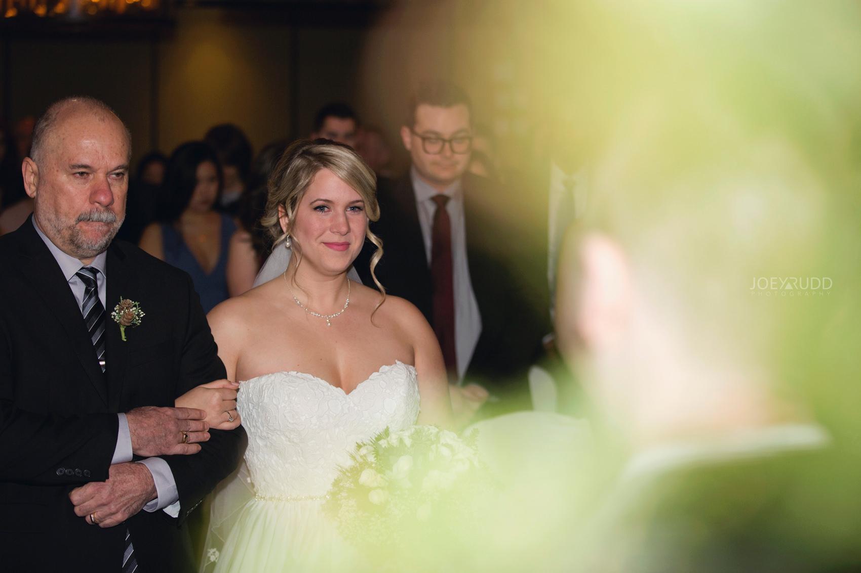 Winter Wedding in Ottawa at Greyhawk Golf Club by Ottawa Wedding Photographer Joey Rudd Photography Ceremony