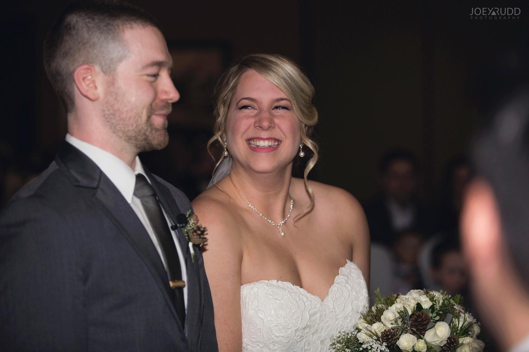 Winter Wedding in Ottawa at Greyhawk Golf Club by Ottawa Wedding Photographer Joey Rudd Photography Emotion Excitement