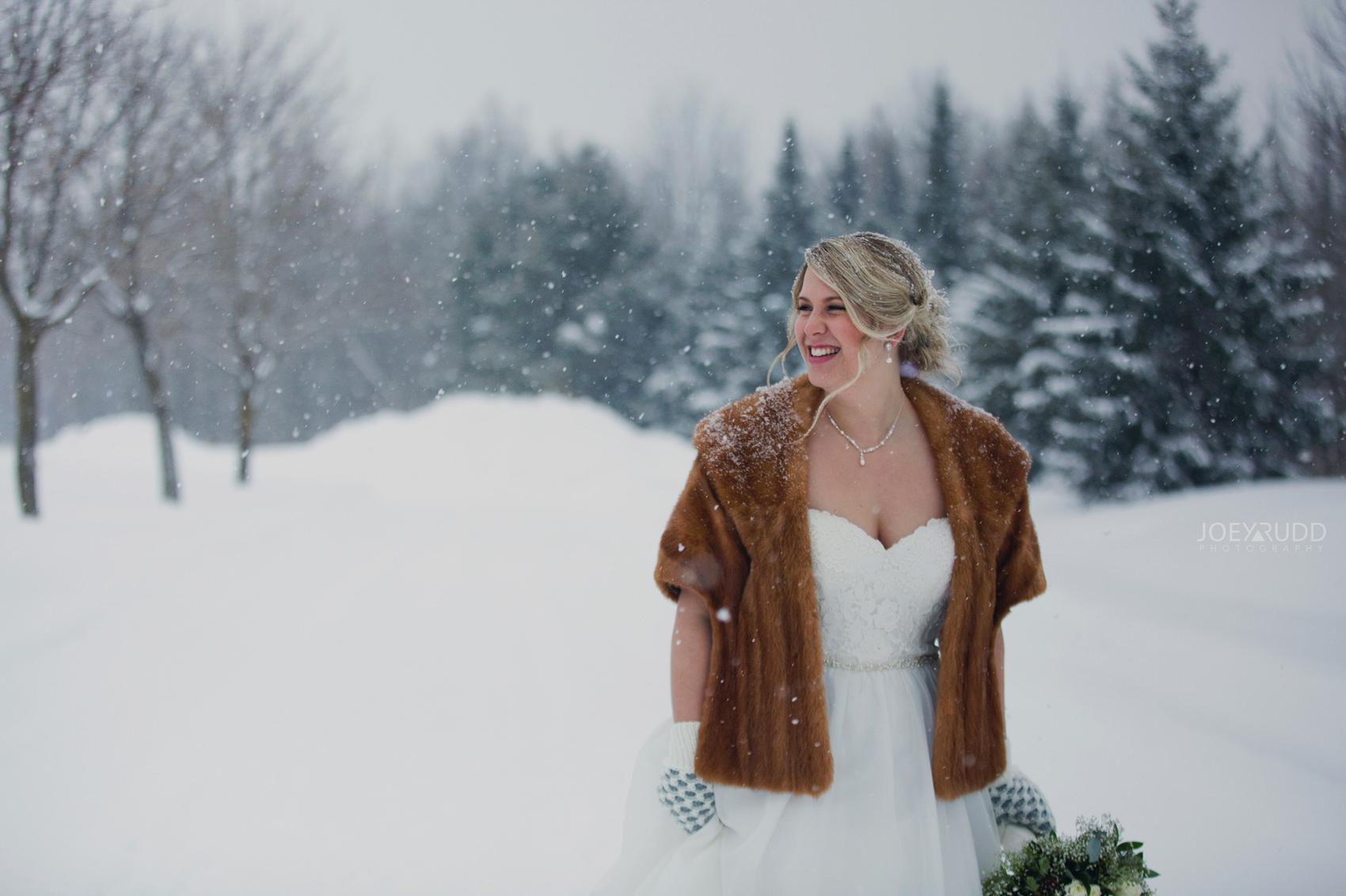 Winter Bride Ottawa