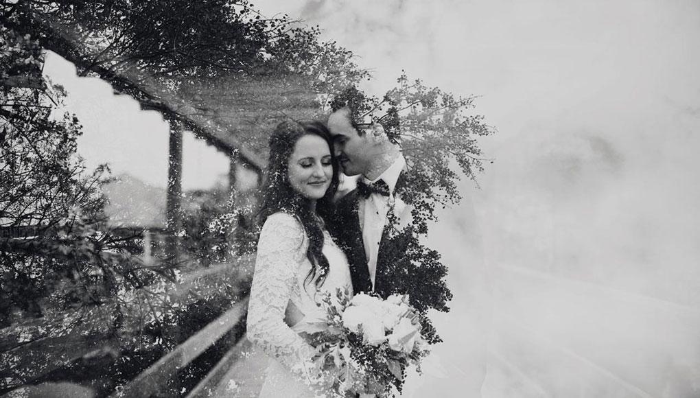 Ottawa Wedding Show Wedding Photographer Joey Rudd Photography Orchard View Wedding Double Exposure