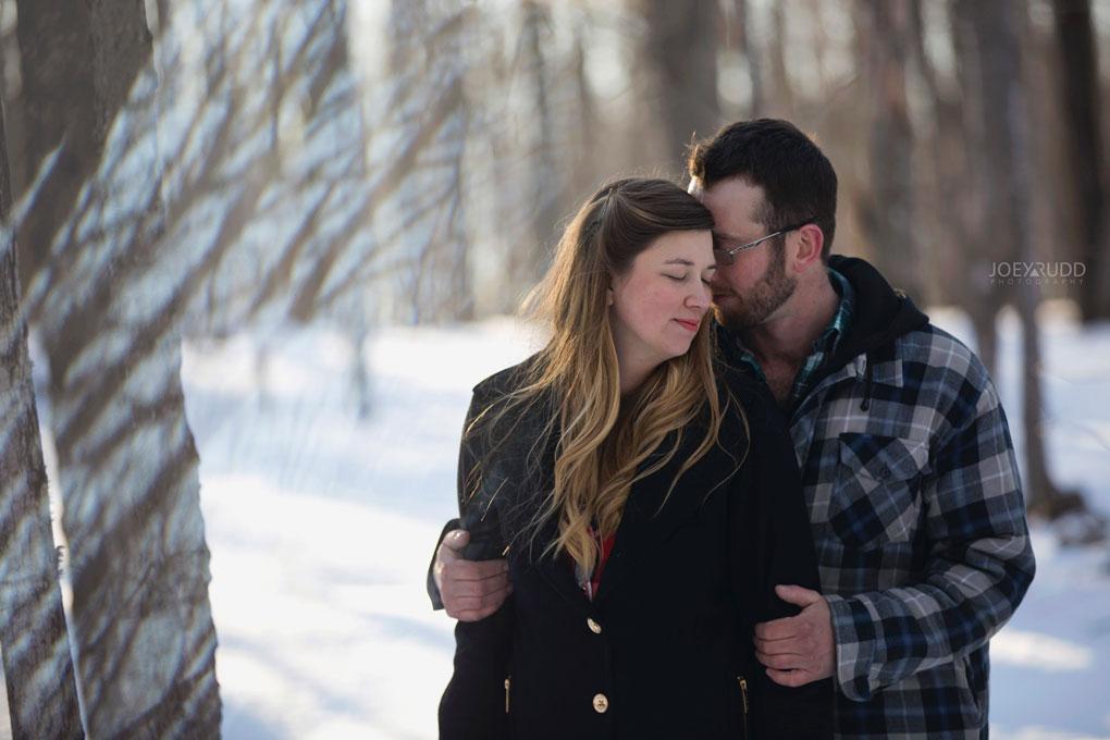 Kemptville Engagement Photos by Ottawa Wedding Photographer Joey Rudd Photography Prism