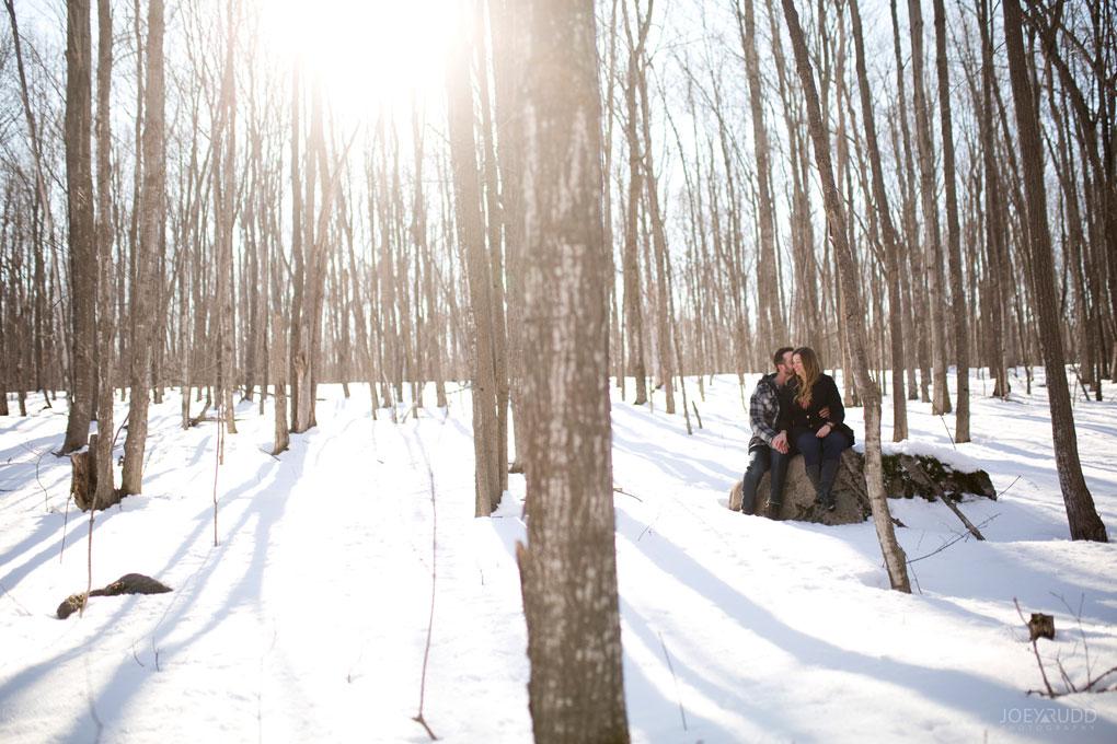 Kemptville Engagement Photos by Ottawa Wedding Photographer Joey Rudd Photography Sunset