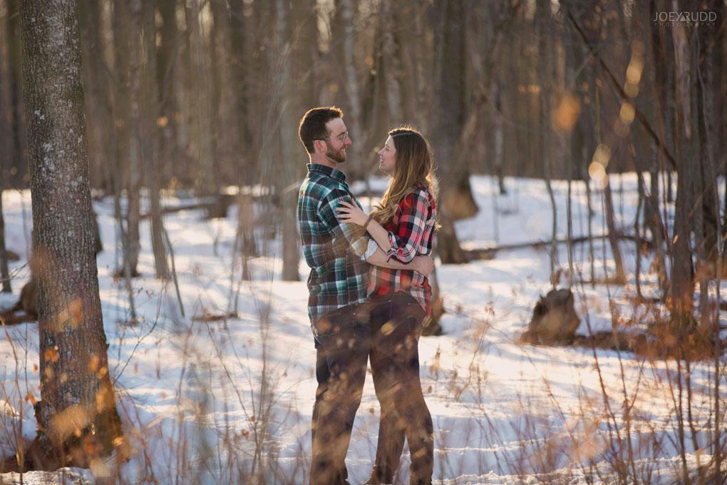 Kemptville Engagement Photos by Ottawa Wedding Photographer Joey Rudd Photography Chasing Light, Light Leaks