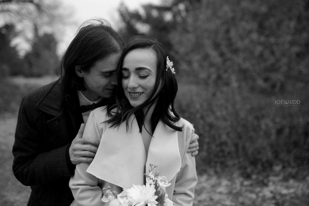 Elopement Wedding by Ottawa Wedding Photographer Joey Rudd Photography, Elopement, Elope, Wedding, Moody, Posing
