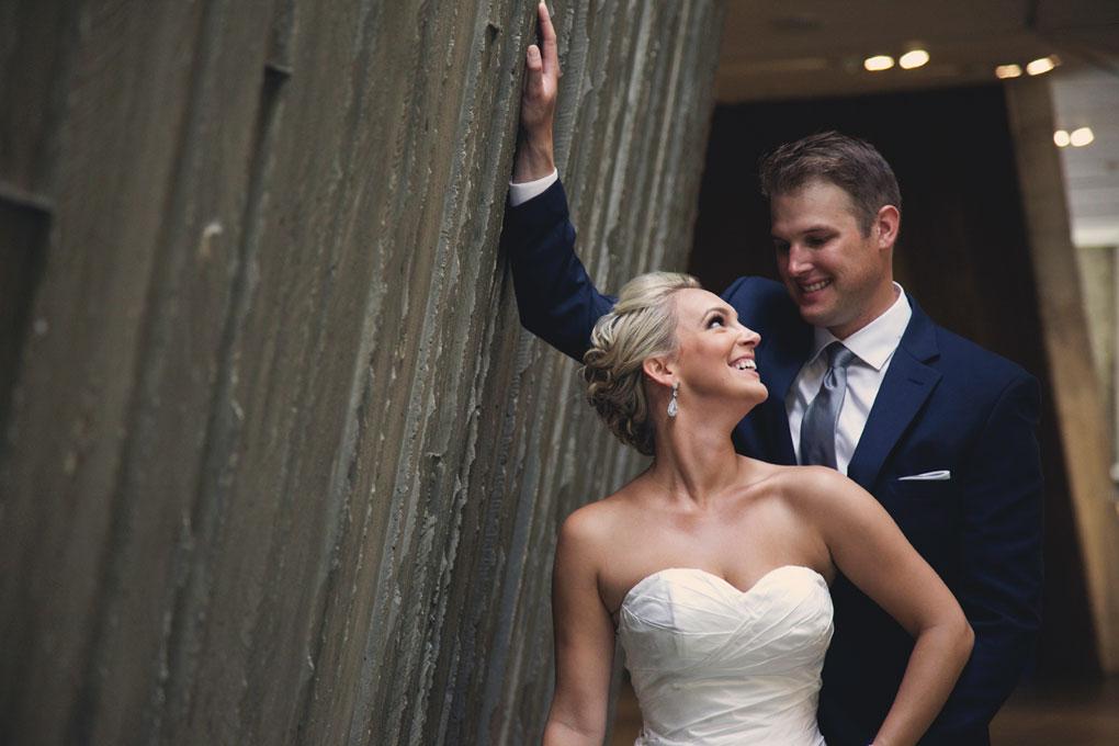 Wedding Photos inside the Canadian War Museum