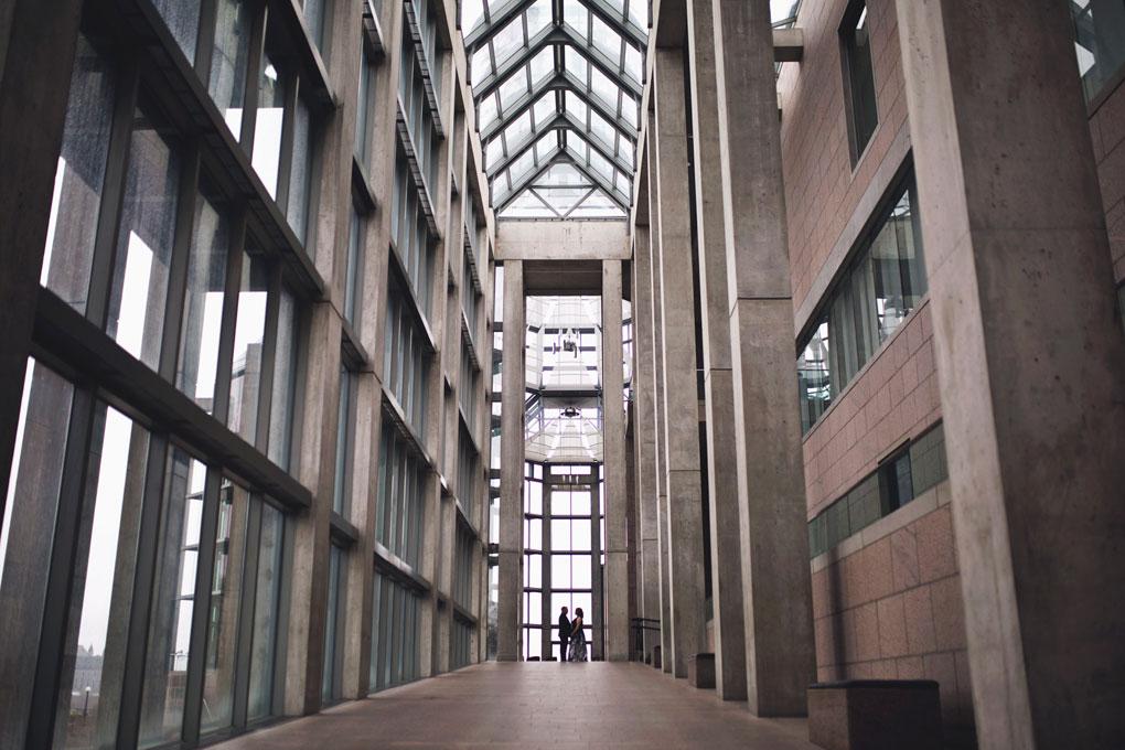 National Art Gallery, Indoor Photo Location, Rain Location, Ottaw Wedding