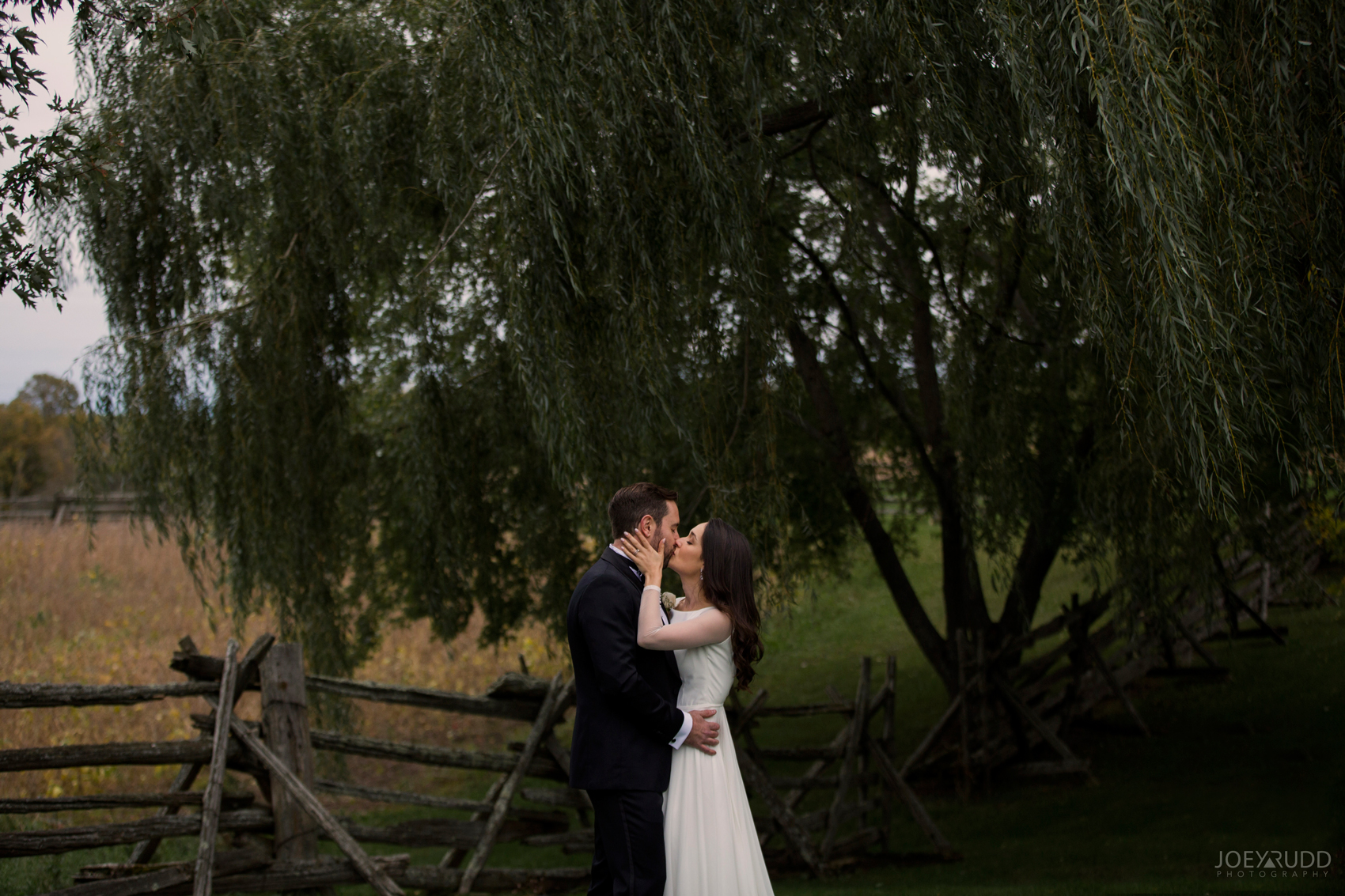 Evermore Wedding, Evermore Wedding and Events, Ottawa Wedding, Almonte Wedding, Ottawa Photographer, Wedding Photography, Wedding Photographer, Joey Rudd Photography, Farm Wedding, Rustic Wedding, Barn Wedding Venue, Wedding Venue, Ottawa Wedding Venue, Almonte Riverside Inn, Candid, kiss