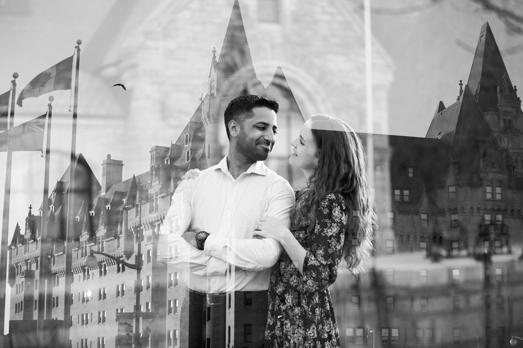 Ottawa Engagement Photos, Engaged, Wedding Planning, Wedding Venues, Photo Locations, Joey Rudd Photography, Covered photo locaitons in ottawa, double exposure