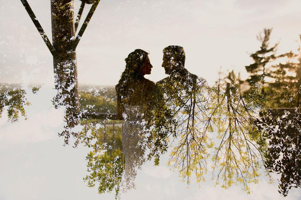Le Belvedere Wedding, Ottawa Wedding Photographer, Gatinuea Wedding, Wakefield Wedding, Wedding Photos, Joey Rudd Photography, double exposure