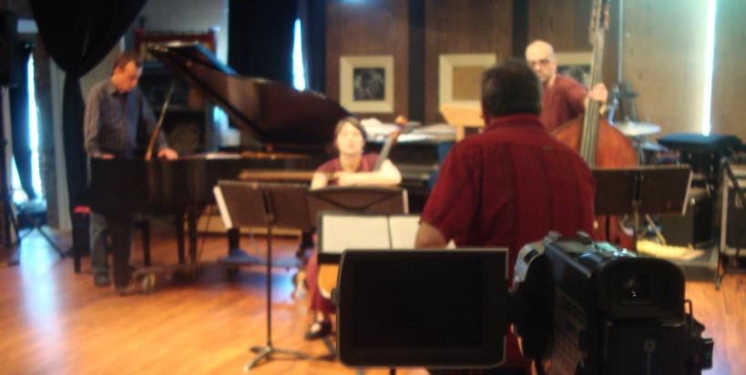 Rick Sacks with the Array Ensemble