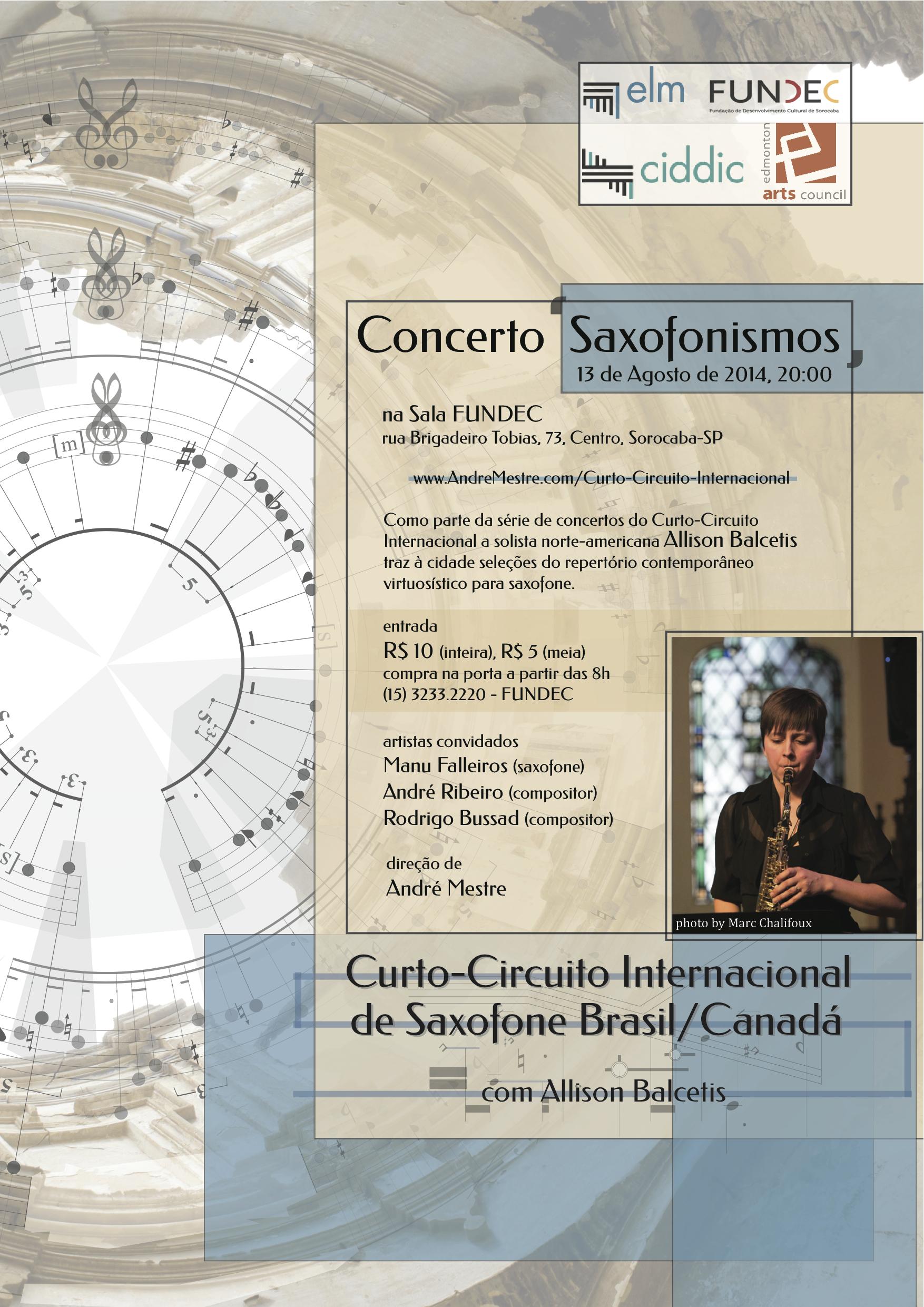 Concerto 'Saxofonismos'
