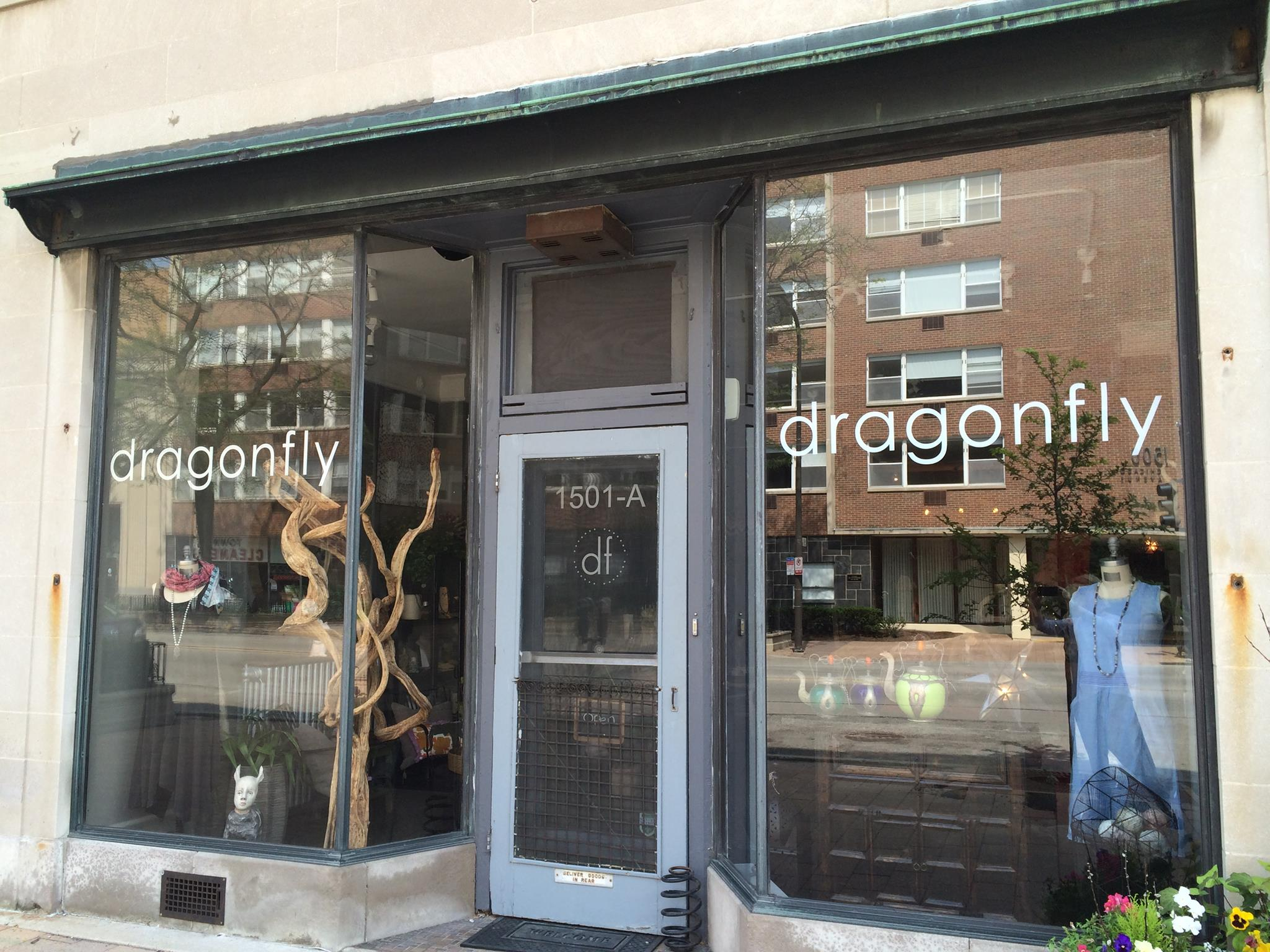 our storefront at 1501 a chicago avenue in evanston.