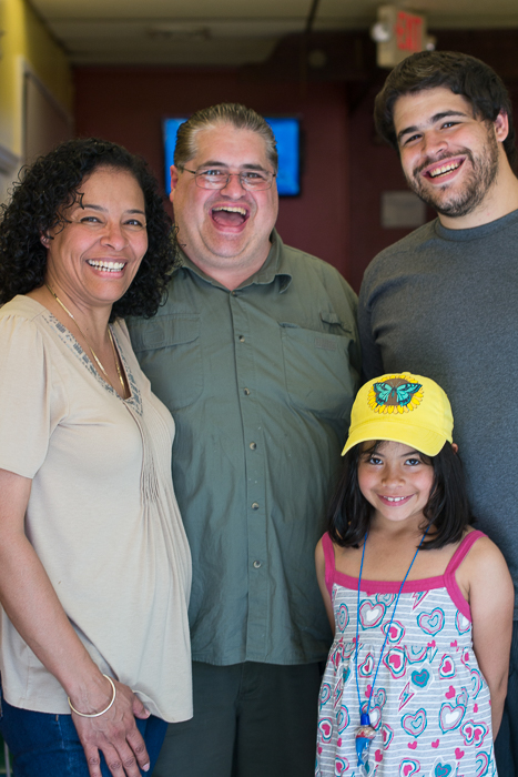 The Abdelaziz Family    Sunday, June 22nd, 2014   Everyone has great smiles and laughs! I love them dearly!   © Mariah Texdor