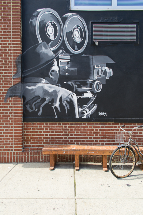 I got to photograph that mural I wrote about in a previous post. It is just so cool, I really do enjoy looking at it.   © Mariah Texidor