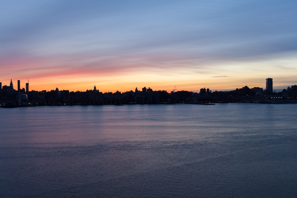 NYC from Hoboken, NJ