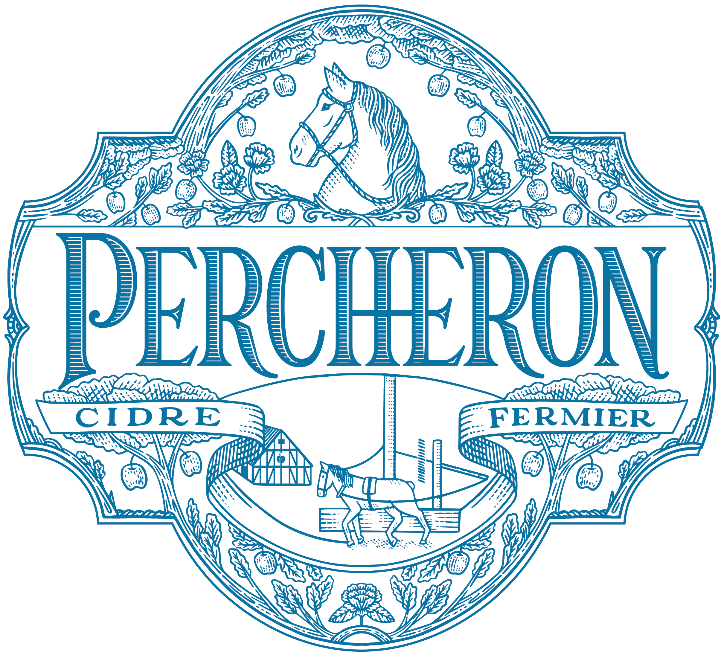 Percheron Crest.png