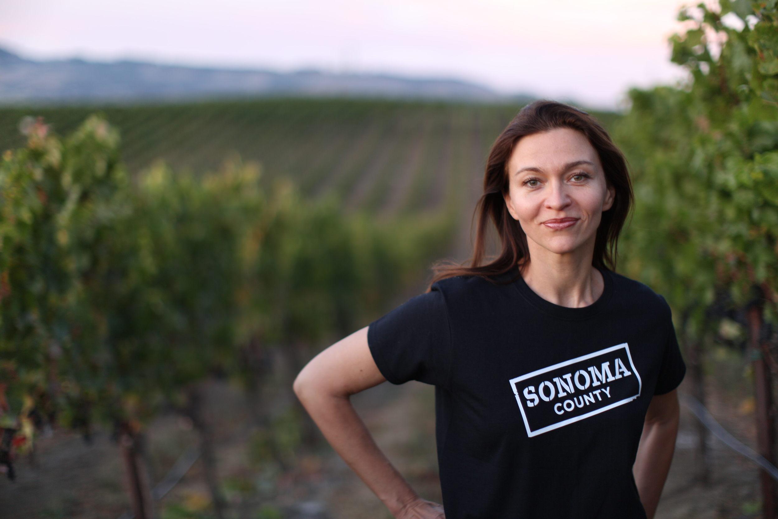 Diana Karren, owner of Terra de Promissio and Land of Promise Wine