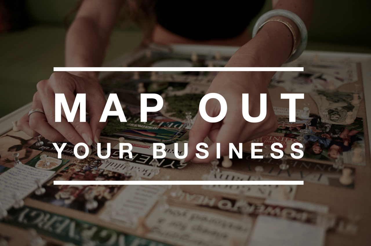 MAP OUT YOUR BUSINESS ALOHA DREAMBOARD
