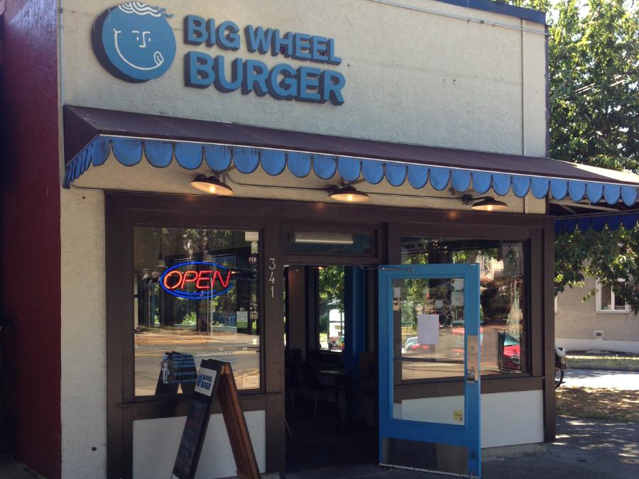 Big Wheel Burger cook street
