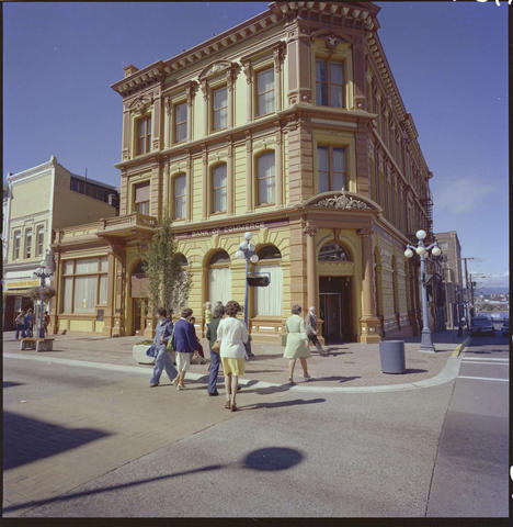 The bank still in operation, 1976. Source: Royal BC Museum.