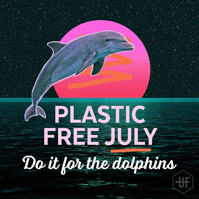 The most devastating impact of plastic is in our oceans. Plastic is choking and clogging the stomach of our sea life and if that's not bad enough, it's working its way up the food chain; to our plates. It's fucking disgusting, so start this #plasticfreejuly off by making a pledge to rid your life of single use plastics. Straws, bottles, cotton buds, takeaway coffee cups, dry cleaning bags, shopping bags, individually wrapped food items like lollies or sushi. The list goes on. If it's plastic you'll use for a second and can make a choice about whether you use it, no touchy. Ok? 🙌 🐬  To find out more follow the link in our bio☝️