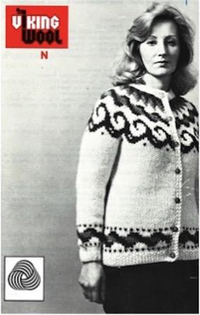 Lopapeysa pattern. Viking Wool. N.d. Courtesy of Cynthia Cooper.