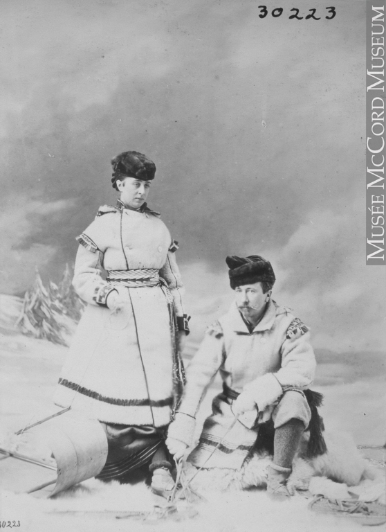 William Notman (1826-1891), Colonel and Mrs. Wolseley, Montreal, QC, 1868 .Image courtesy of the  McCord Museum .
