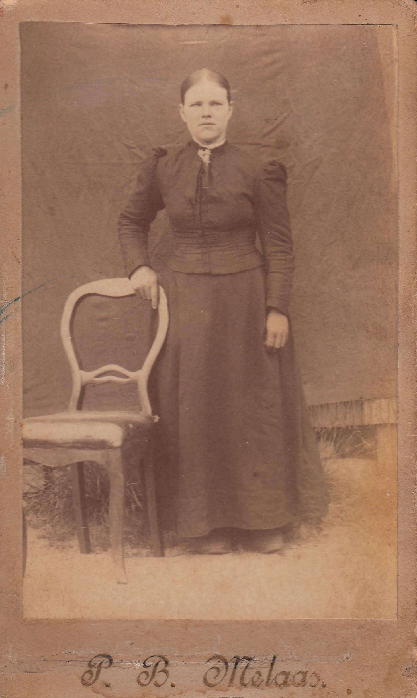 Anne Karine Halvorsen Melås Lia, f. 1868.