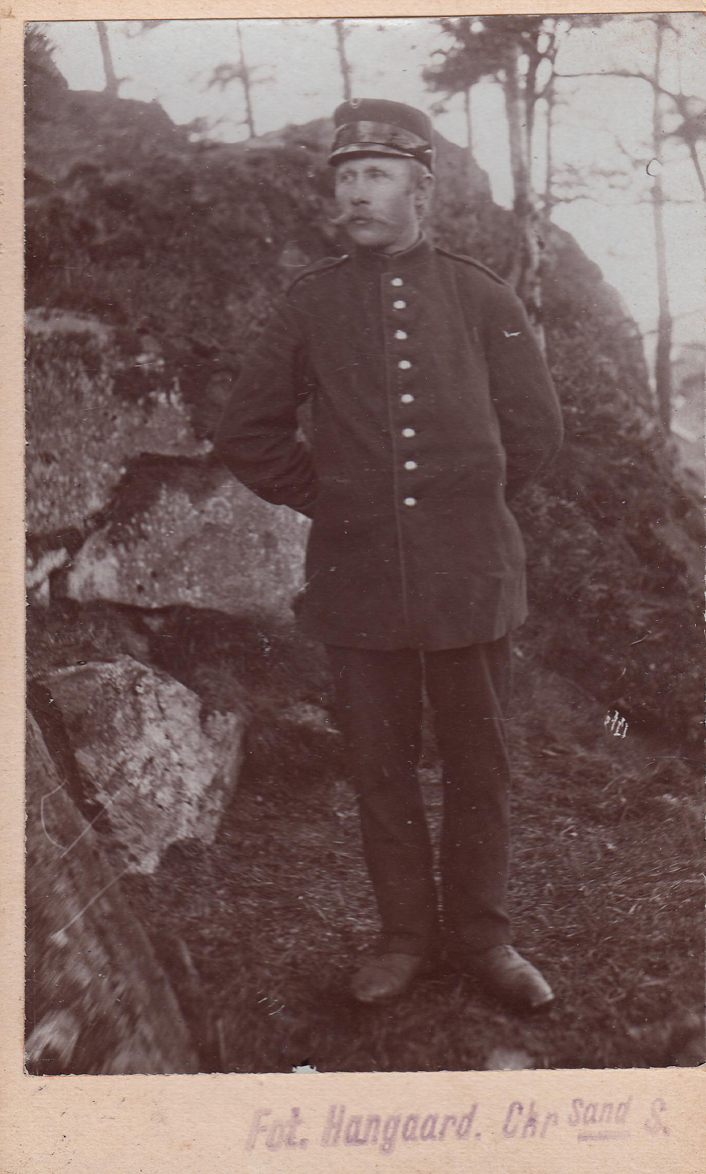 Ola Halvorsen Lia. Foto tatt i 1914.