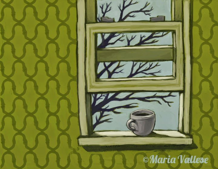 """Coffee at the Windowsill"""