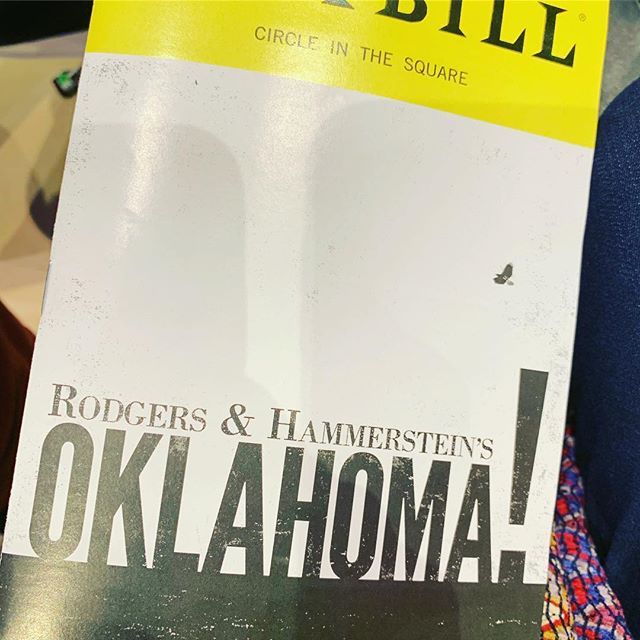 @oklahomabway Intense and brilliant @stannswarehouse Go see it.