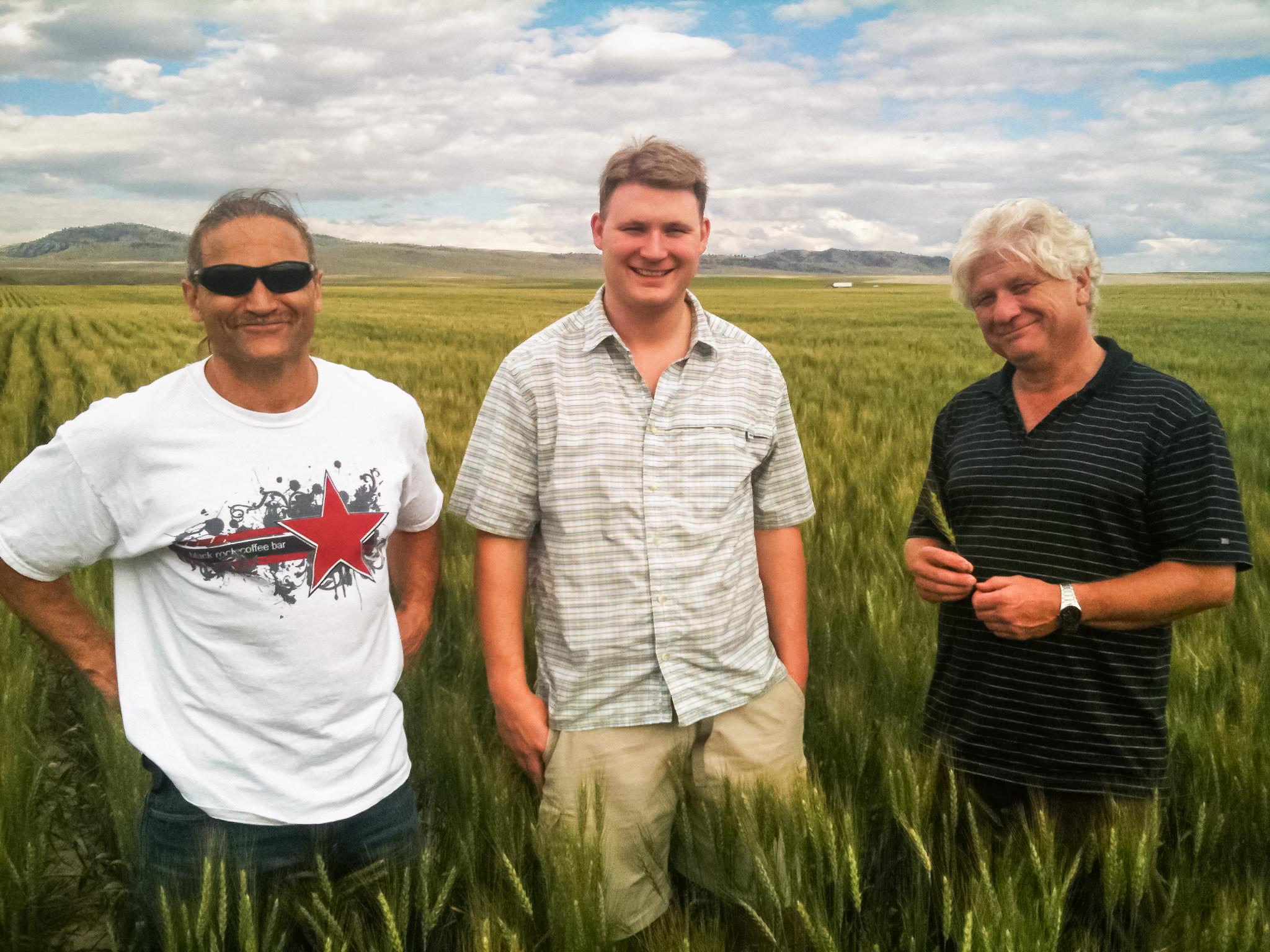 Dave's Killer Bread founders: Dave, Shobi, and Glenn Dahl