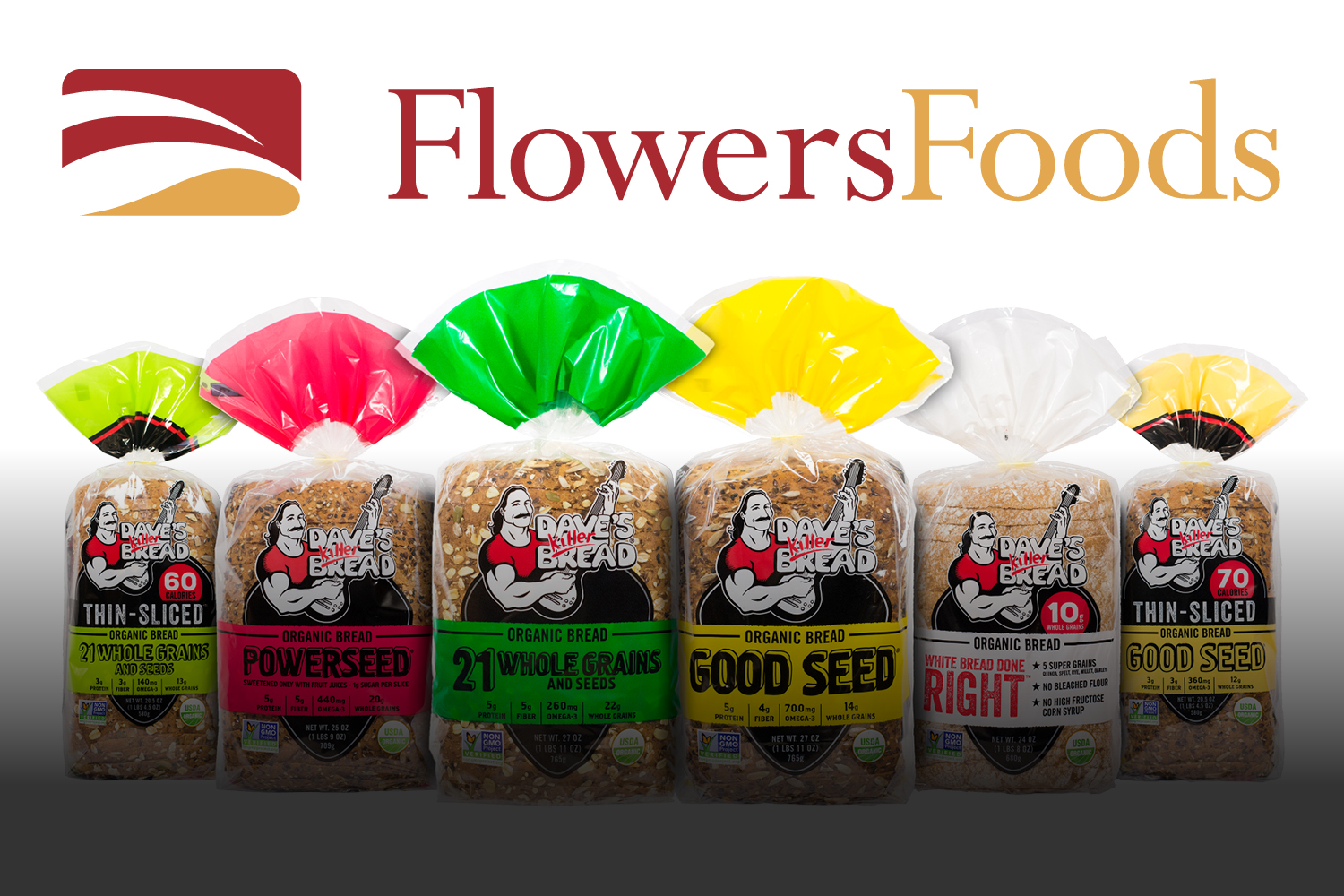 2015 - Dave's Killer Bread is Acquired by Flowers Foods